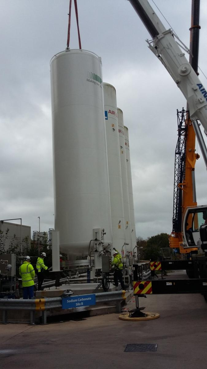 New Carbon Dioxide Tank to Ensure Consistency of Product